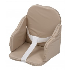 Highchair cushion with straps