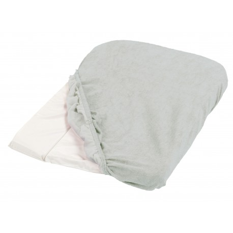 Set of 2 terry changing mattress covers